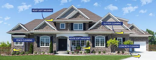 diagram to show examples for soft washing atlanta